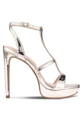 ALDO 金色 厚底高跟鞋 3AF74SH9165433GS_1