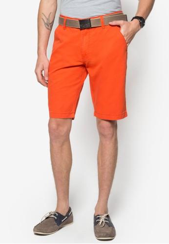 腰帶休閒短褲esprit 雨傘, 服飾, 短褲