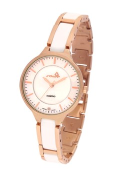 Le Chic Swiss Made Real Diamond Ceramic Lady Fashion Watch