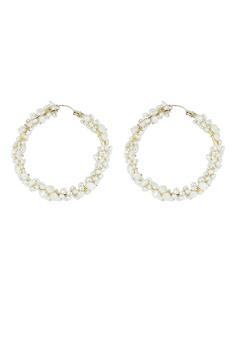 9df491784 Kookii B gold Seren Cluster Round Hoop Earrings 932A4ACFD3AC62GS_1
