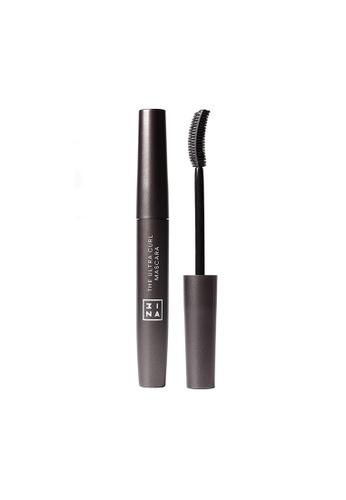 3INA black The Ultra Curling Mascara Black A72E4BE5B03E6FGS_1