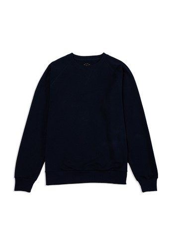 TIRAJEANS blue Raglan Sweatshirt 45FDFAA9F080DFGS_1