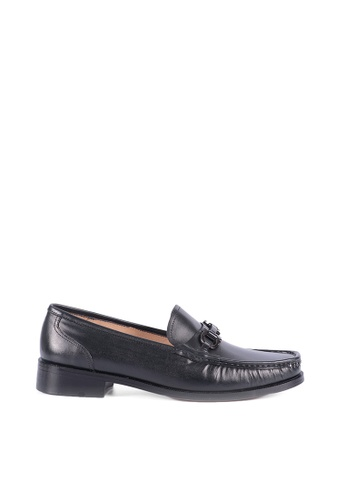 Bristol Shoes black McKinley Loafer BD1F7SHE72154DGS_1