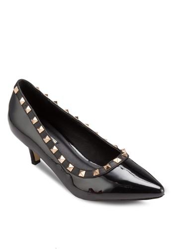 鉚釘尖頭高跟鞋, 女鞋, esprit專櫃厚底高跟鞋