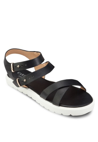 Desprit手錶專櫃ouble Buckle Sandals, 女鞋, 鞋