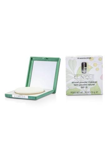 Clinique CLINIQUE - Almost Powder MakeUp SPF 15 - No. 02 Neutral Fair 10g/0.35oz E9BCABE87CD0C8GS_1