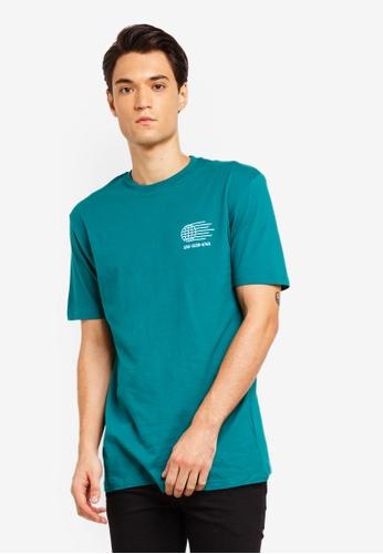 Factorie 多色 印花T恤 56D5EAA4A1EAB6GS_1