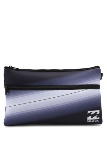 Billabong black Jumbo Pencil Case BI783AC0SXIZMY_1