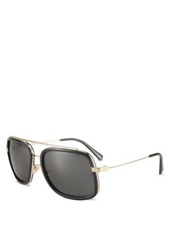 Versace black Pop Chic Greca VE2173 Sunglasses B25FAGL700BD46GS_1