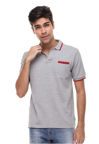 Johnwin grey Johnwin - Slim Fit - Polo Casual Active - Kantong Tempel - Abu 34B2EAAC0BA449GS_1