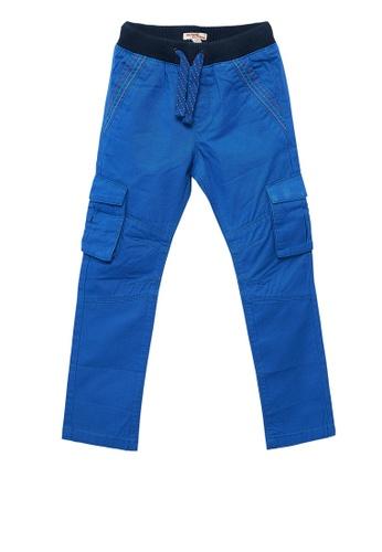 Du Pareil Au Même (DPAM) blue Blue Pants AC8F9KA6858D0CGS_1