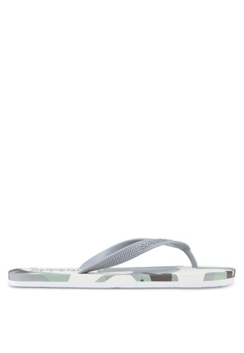 Superdry white Superdry Sleek Flip Flops SU137SH09HVQMY_1