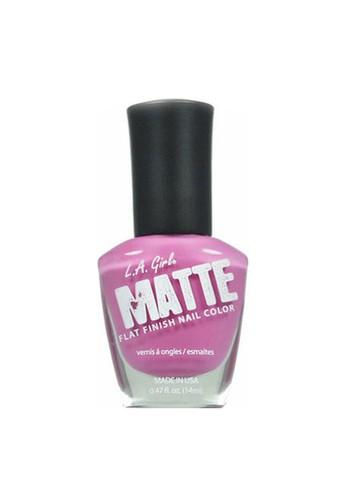 L.A Girl pink La Girl Matte Lilac 4681BBECF3350DGS_1