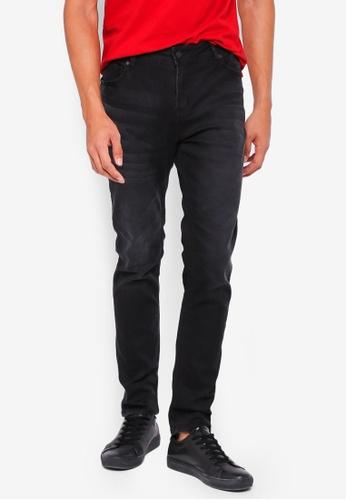 Penshoppe black Skinny Fit Jeans 7DF64AACD3B588GS_1