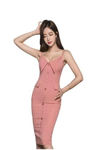 Buy Crystal Korea Fashion 2019 New Temperament V Neck Sling Slim
