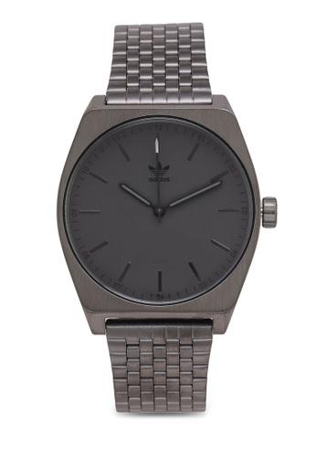 adidas black and multi adidas originals Process M1 Watch B9FB8AC69B499FGS_1