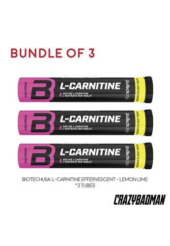 BioTechUSA [Bundle of 3] L-Carnitine Effervescent - Lemon Lime 31EF7ESE33F530GS_1