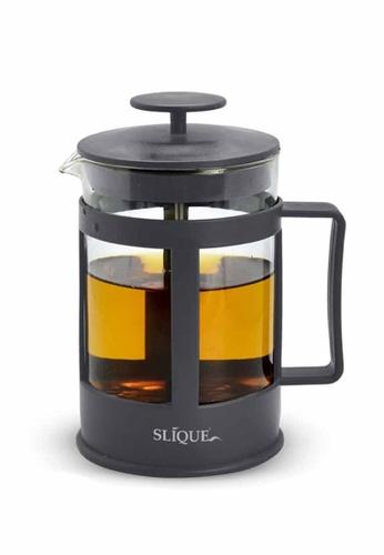 Slique grey Premium Borosilicate Glass French Coffee Press 800ml 27472HL878F213GS_1