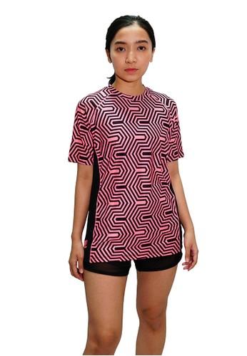 Trijee pink Trijee Women Short Sleeve Tee Halu Series 1 Pink EFB0FAA9D16DF0GS_1