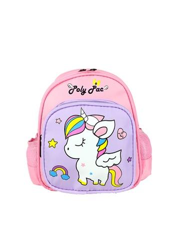 Poly-Pac pink Poly-Pac PK2047 10 inch Kindy School Bag D72E7KC88664B9GS_1