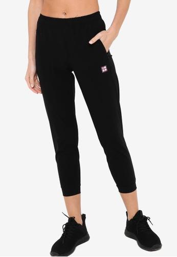 361° black Cross Training Sports Cropped Pants B4932AA06AFBF0GS_1