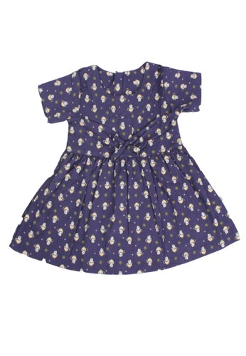 Pingu navy Pingu - Dress Baby Printing Cat 6548DKA895F679GS_1