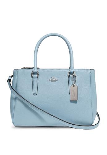 Coach blue Mini Surrey Carryall Bag (cv) 8D84BAC2610A8FGS_1