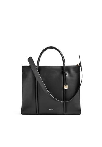 SKAGEN black Skagen Katryn - Leather - Recessed Zip Satchel - Tas Skagen Wanita - SWH0254001 56939ACDF2F1EDGS_1