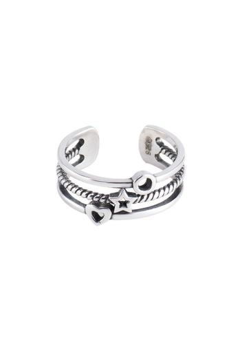 OrBeing white Premium S925 Sliver Star Ring ABEE8AC75F21E6GS_1