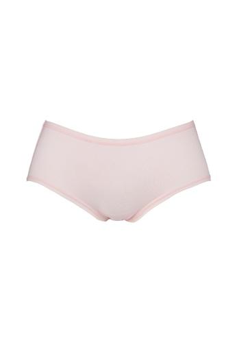 FOREST pink ( 1 Piece ) Forest Ladies Cotton Spandex Midi Brief - OLD0011D 7BDA7US1CCE407GS_1