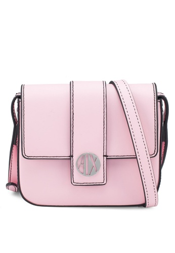 7f4fd0853e74 Buy Armani Exchange Logo Buckle Crossbody Bag Online on ZALORA Singapore
