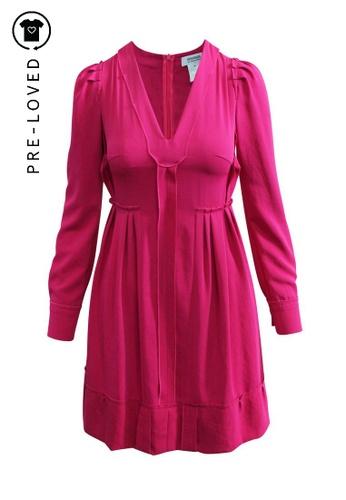 Sonia By Sonia Rykiel pink Pre-Loved sonia by sonia rykiel Long Sleeves Dress AD78AAAFB91097GS_1