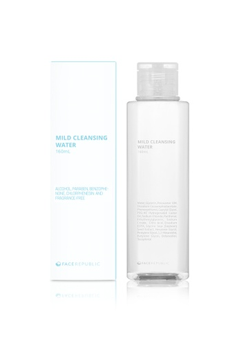 Face Republic Mild Cleansing Water 160 ml F0153BE476B0F6GS_1