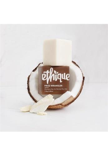 Holland & Barrett Ethique Frizz Wrangler Shampoo Bar for Dry or Frizzy Hair 110g 8B383ES3464CF4GS_1