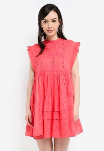 2e4a4c85590c Free People pink Nobody Like You Embroidered Mini Dress 7F7A2AA2B6B5E4GS_1