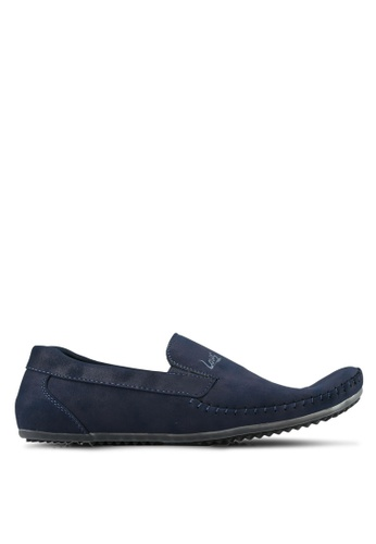 Louis Cuppers navy Casual Loafers LO977SH0S9RUMY_1
