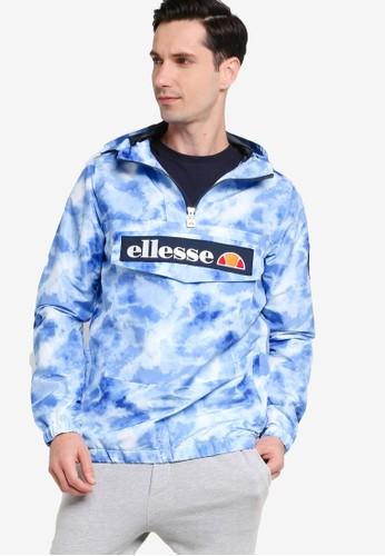 ellesse blue Mont 2 Tie Dye OH Jacket F1C40AADF41695GS_1