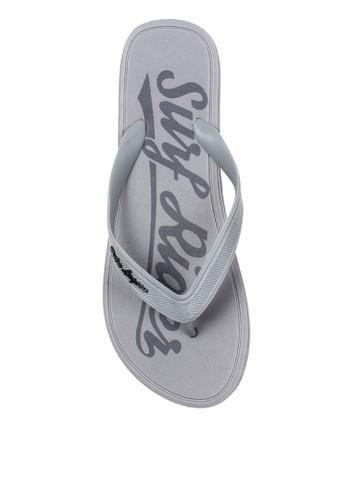 Palm Lagoon grey Sandal & Flip Flop Texture Grey BC90ESH19E7D14GS_1