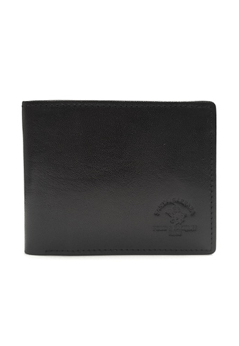 Santa Barbara Polo & Racquet Club black Santa Barbara Luxurious Leather Multiple Card Holders SA678AC0GQ9LSG_1