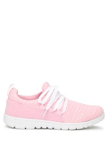 London Rag 粉紅色 London Rag女士红色运动鞋 SH1651 9D1D1SH4FFF7AFGS_1