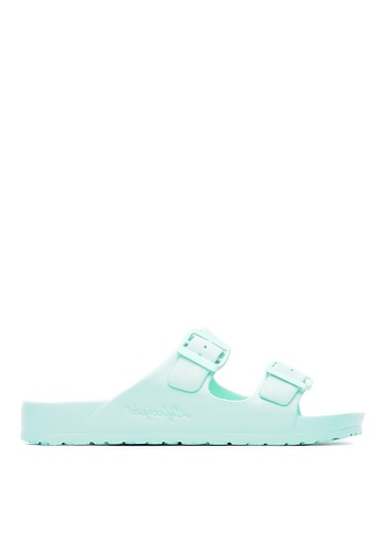 Life8 blue Casual Macaron Series Floating Cooling Slippers-09634-Aqua Blue LI283SH0GMA2SG_1