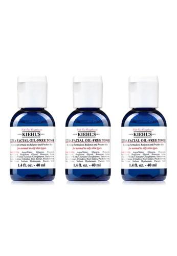 Kiehl's Kiehl's Ultra Facial Oil-Free Toner 40ml x 3 1C8B3BE2800D8EGS_1