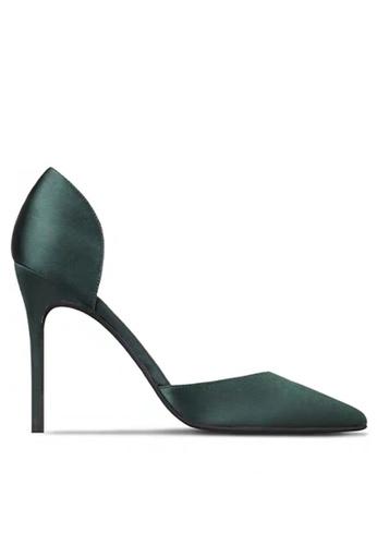 Twenty Eight Shoes 8CM Silk Fabrics Hollow High Heel Shoes LJX06-c 89A0BSH80520BBGS_1