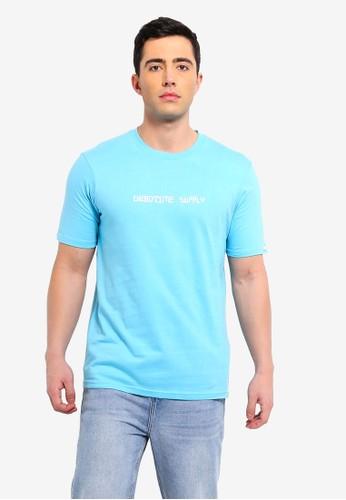Cotton On blue Street T-Shirt CE8D0AA93CAA1CGS_1