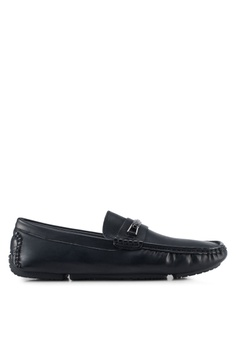 Bata black Vian-Lb Loafers DFD47SHA250E52GS_1