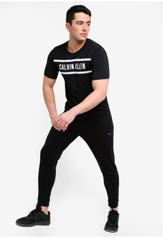 ab8265180fec2 Calvin Klein Logo Panel Short Sleeve Tee - Calvin Klein Performance RM  259.00. Sizes S M L XL