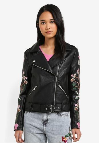 ONLY black Maltes Biker Jacket BA85CAA082957EGS_1