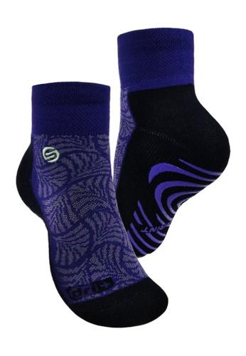 PUMA purple Ultimate Anti-slip Sprint Socks CAFD3AA33781ABGS_1