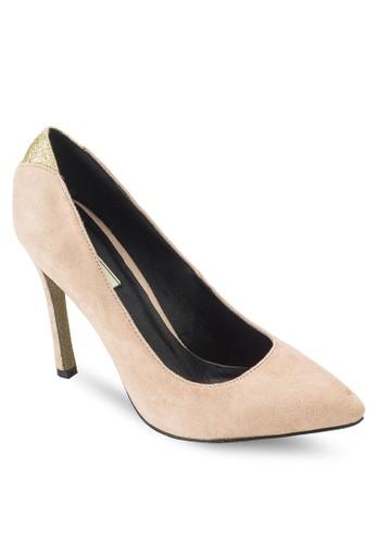 雙色尖頭高跟鞋、 女鞋、 鞋Nose雙色尖頭高跟鞋最新折價