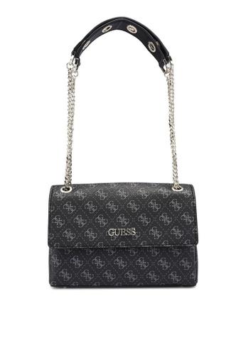 Guess black Washington Convertible Crossbody Bag D42C5AC50B740DGS_1